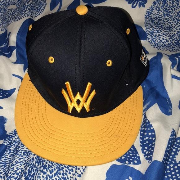WVU baseball cap. M 5afb89e43afbbdf958cbcafc efafa5288c0